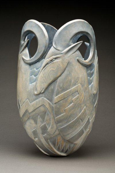 Ron Layport Wood Sculpture  прямые руки