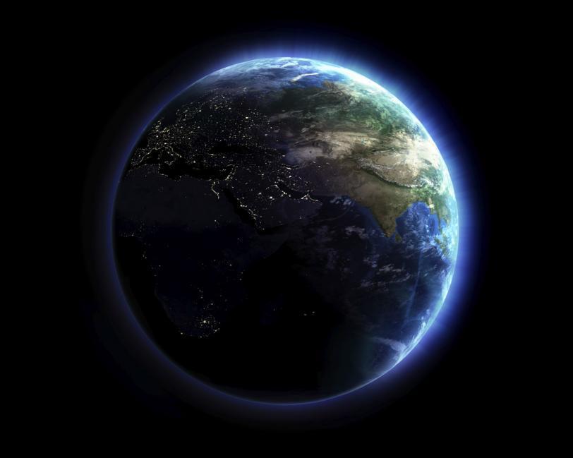 Красивые картинки Обои Космос Земля
