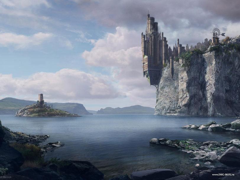 Красивые картинки Арт Обои Фэнтези замок