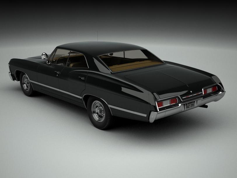 3D графика рендер авто Chevrolet Impala Chevrolet Impala 1967