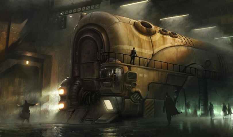 Красивые картинки Арт Стимпанк большая хреновина