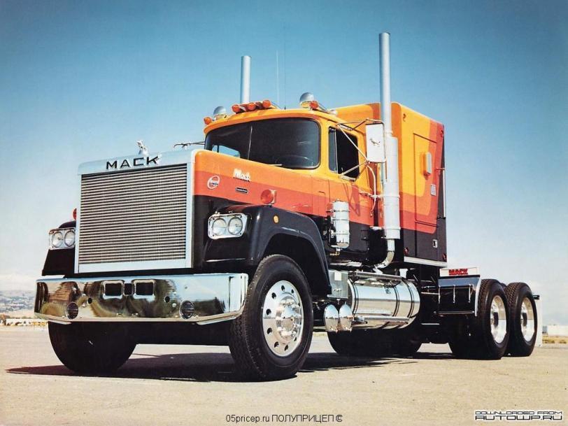 Красивые картинки Обои Фото грузовик MACK