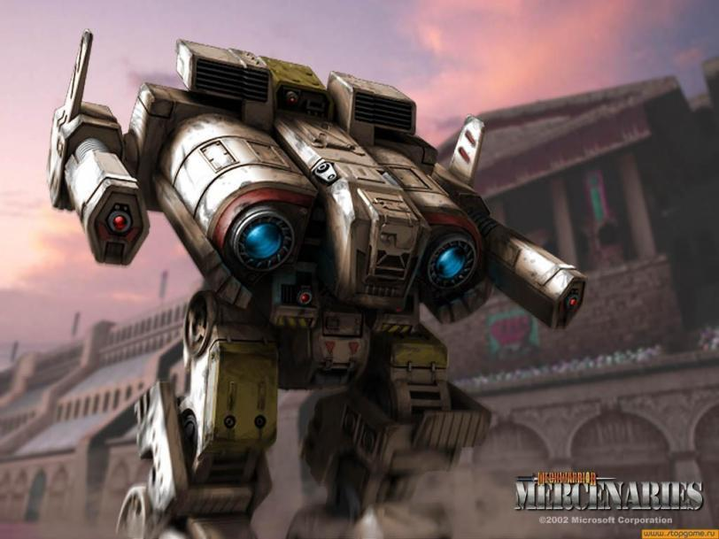Арт Battletech Fafnir Mechwarrior Mercenaries
