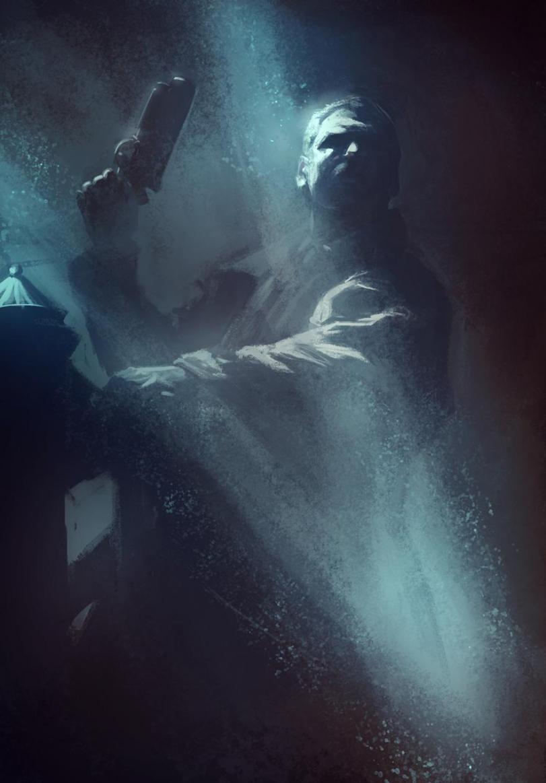Красивые картинки Арт Cyberpunk Киберпанк Bladerunner Бегущий по лезвию