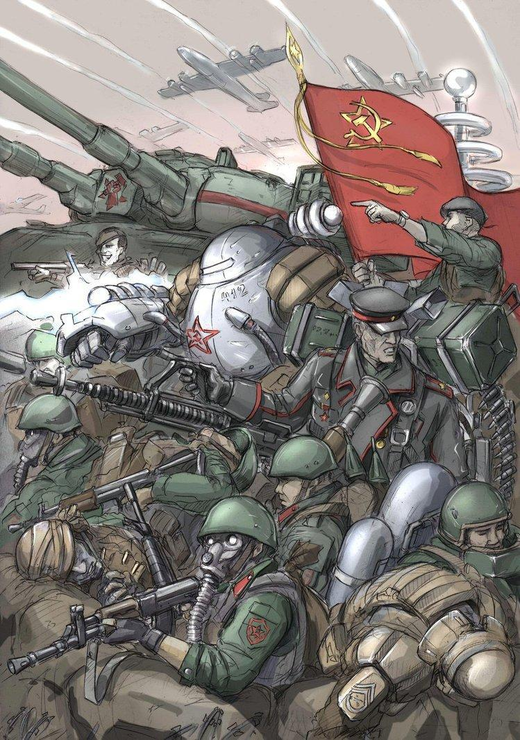 Красивые картинки Арт Red Alert Soviet