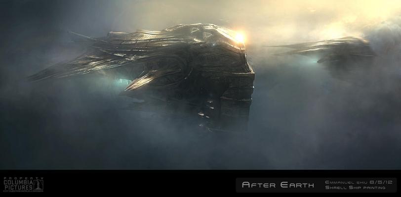 Красивые картинки Арт Sci-fi After Earth