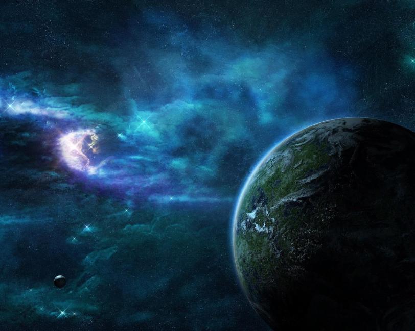 Красивые картинки Арт Обои Космос