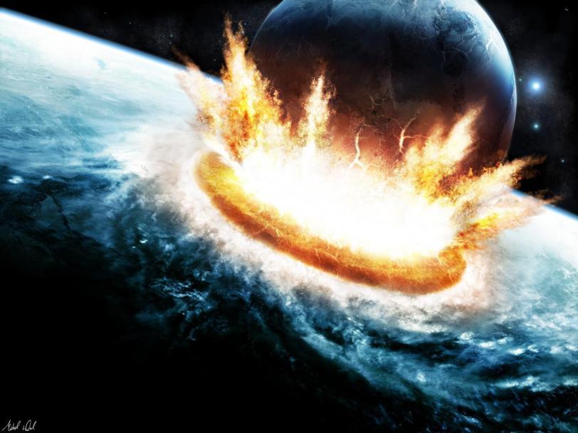 Красивые картинки Арт Обои Космос Апокалипсис