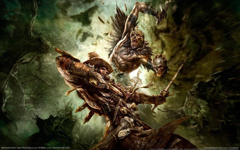 Арт Обои Фэнтези Warhammer Online