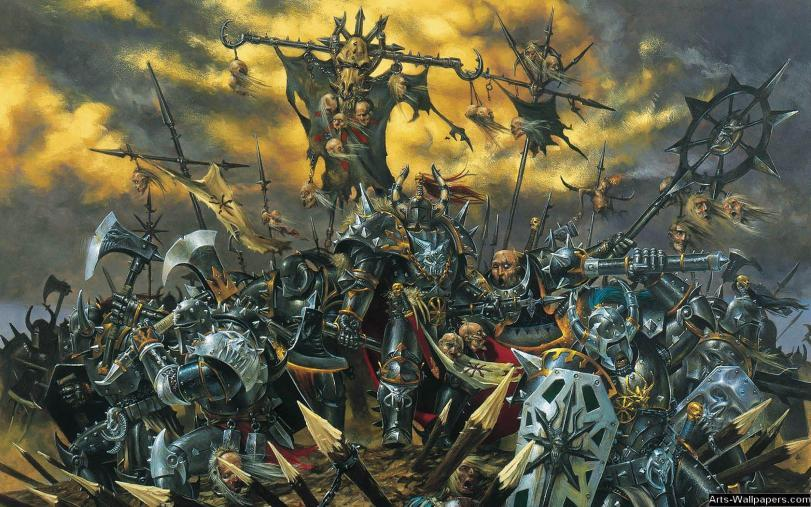 Арт Хаос Warhammer FB Mark of Chaos