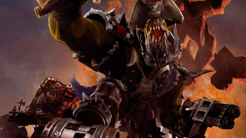 Арт Warhammer 40K Орки Orcz