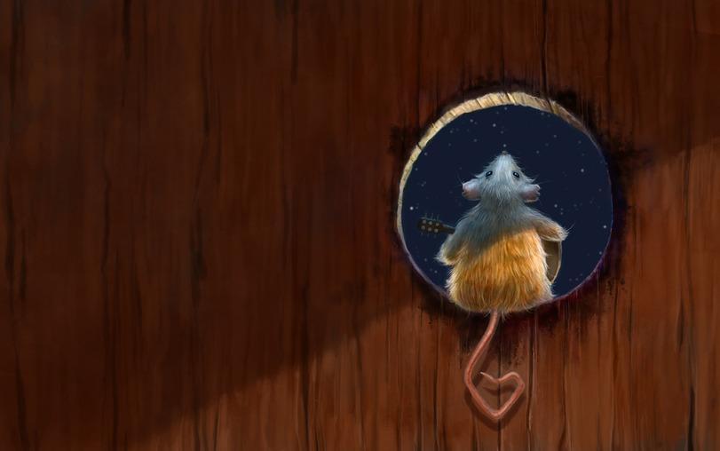 Красивые картинки Арт Живность Мышь