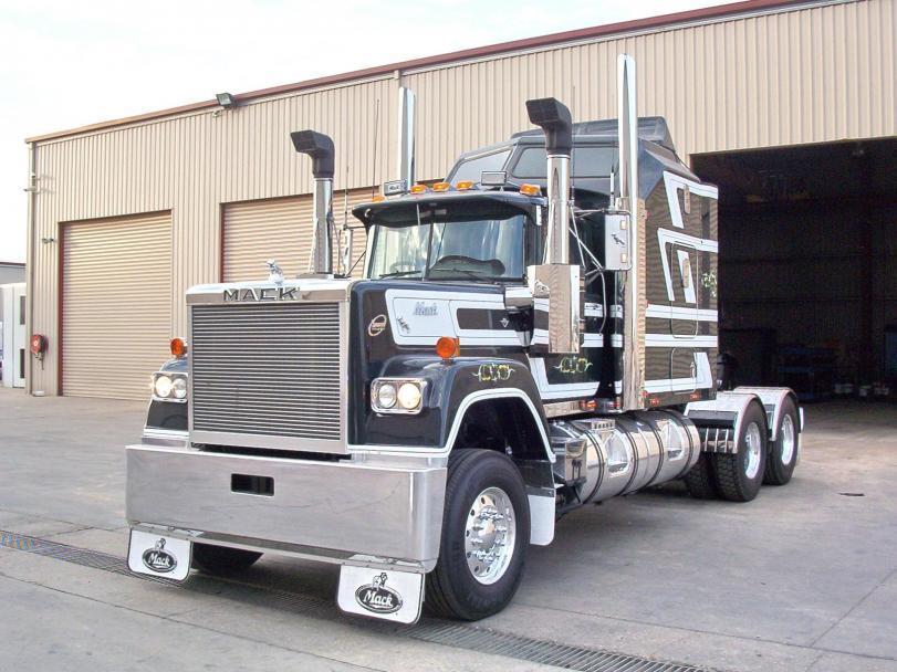 Красивые картинки грузовик MACK