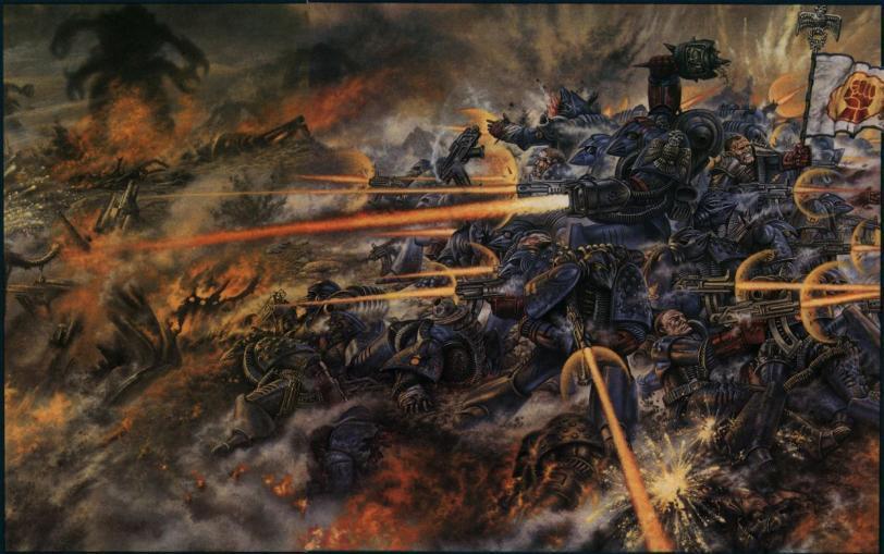 Арт Обои Warhammer 40K пафос и превозмогание