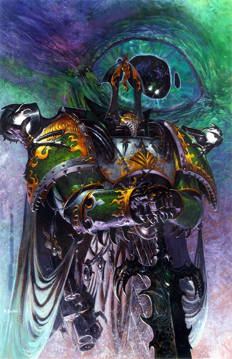 Красивые картинки Арт Warhammer 40K 40K Тзинч Tzeentch