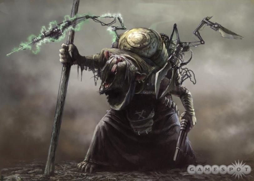 Красивые картинки Арт Warhammer 40K 40K Скавен Skavens