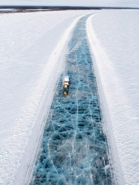 Красивые картинки Аляска Дорога