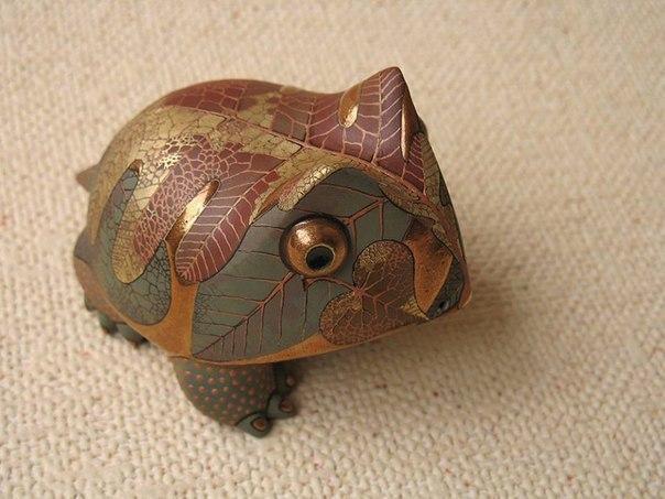 прямые руки Милота керамика лягушка