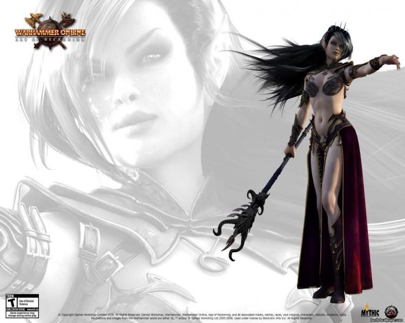 Арт Warhammer Online Elf