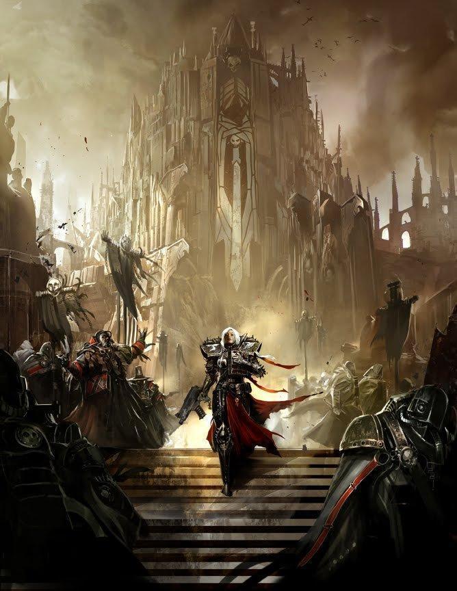 Арт Warhammer 40K Сёстры битвы