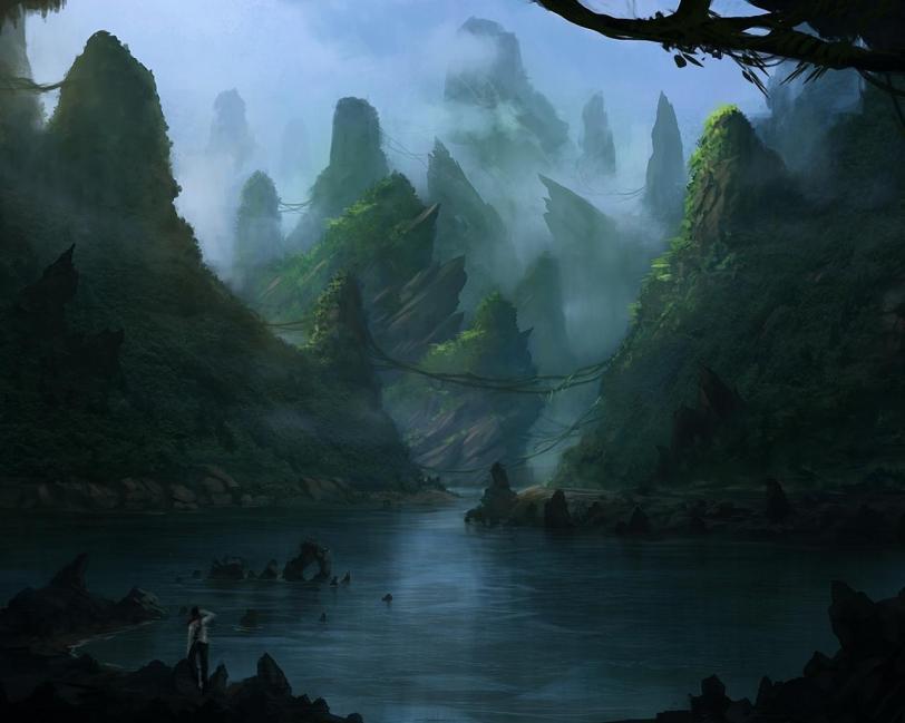 Красивые картинки Арт Природа Фэнтези