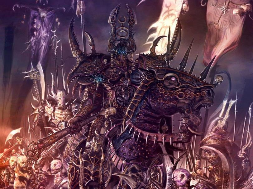 Красивые картинки Арт Warhammer FB Slaanesh