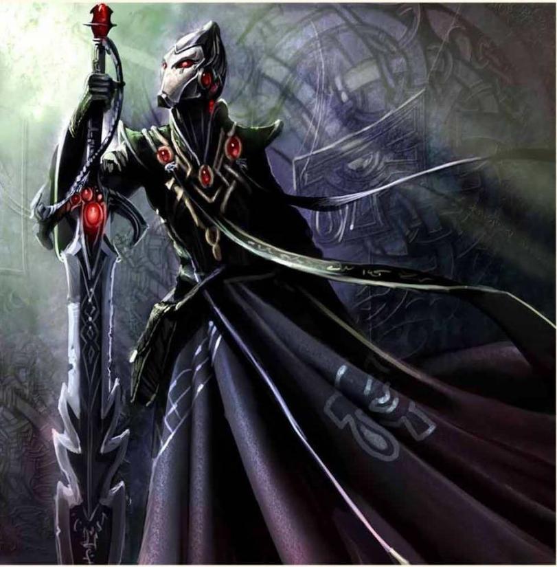 Красивые картинки Арт Warhammer 40K Eldar
