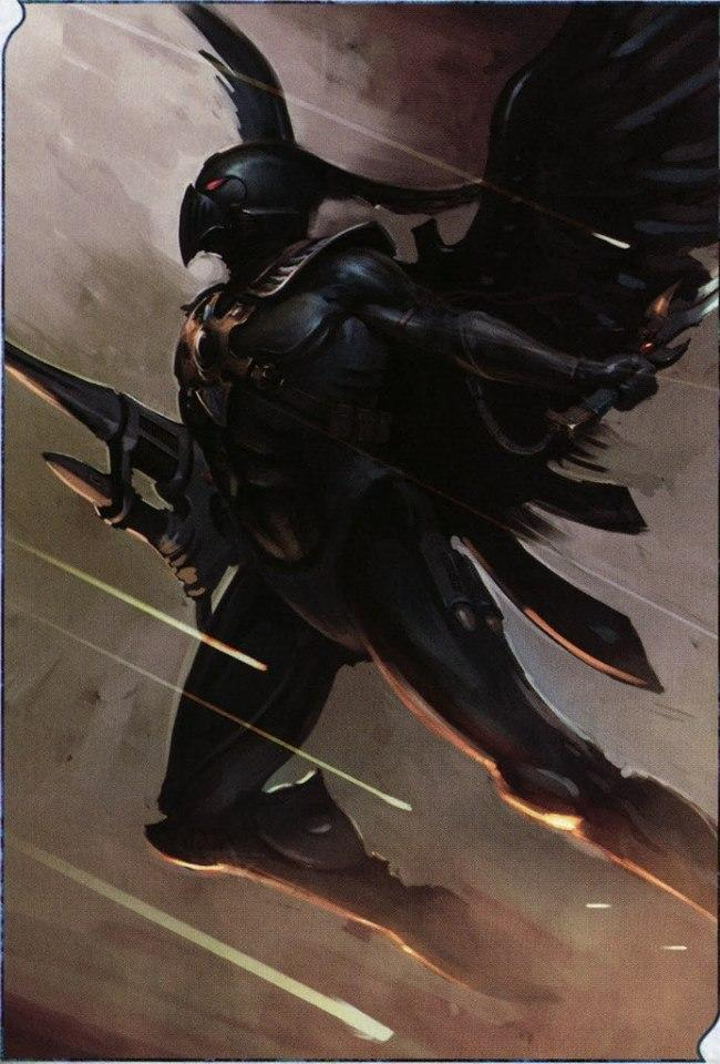 Красивые картинки Арт Warhammer 40K  Eldar Phoenix Lord