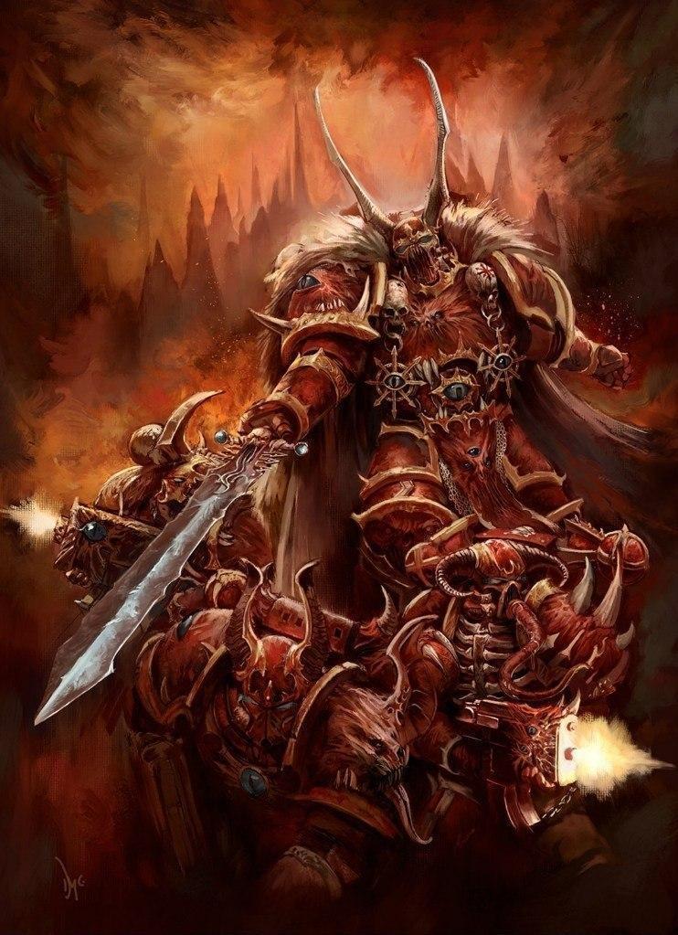 Красивые картинки Арт Warhammer 40K Crimson Slaughter Багровая резня