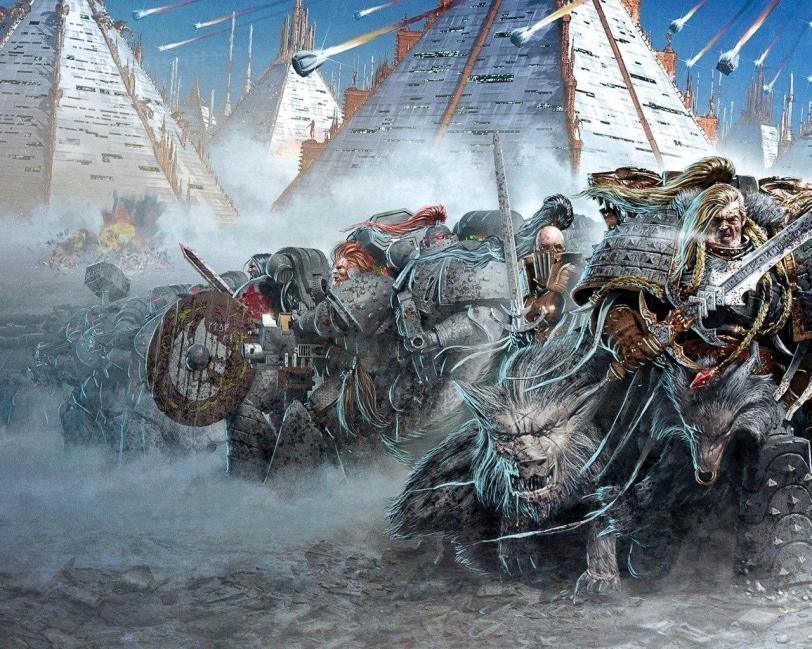 Красивые картинки Арт Warhammer 40K Space Marine Космодесант