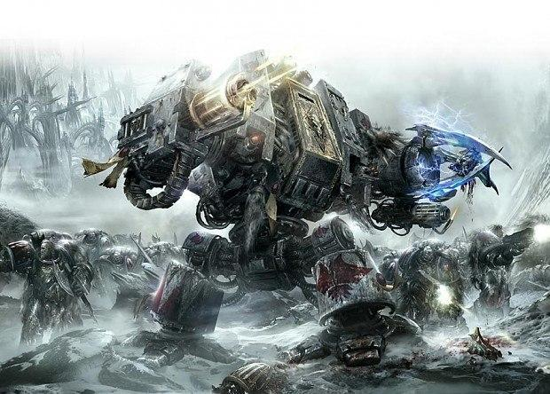 Красивые картинки Арт Warhammer 40K Space Wolves Бьорн Вархаммер