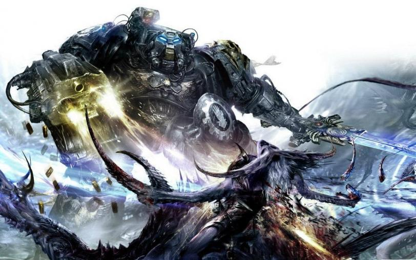 Красивые картинки Арт Warhammer 40K Terminator Терминатор