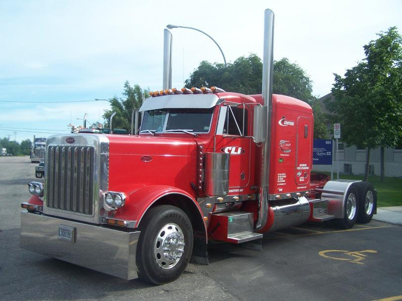 Красивые картинки Фото грузовик Peterbilt