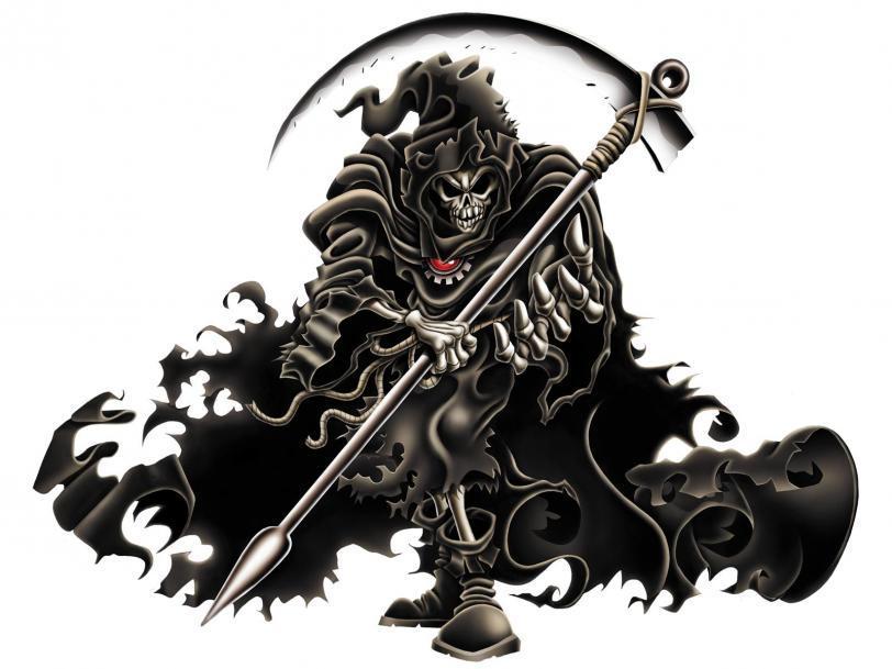 Арт Мрачные картинки смерть