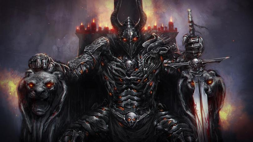 Арт Фэнтези Мрачные картинки тёмный рыцарь