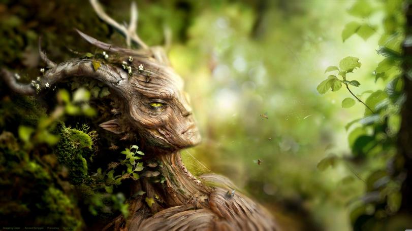 Красивые картинки Арт Природа Фэнтези Фавн