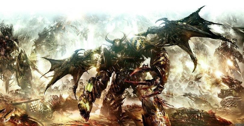 Красивые картинки Арт Warhammer 40K Железные воины