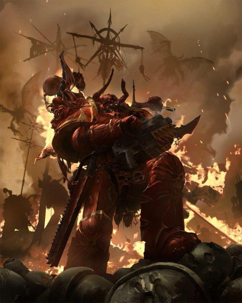 Красивые картинки Арт Warhammer 40K Космодесант