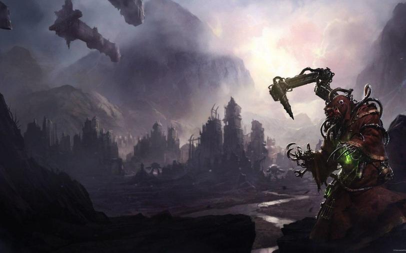 Красивые картинки Арт Warhammer 40K priests of mars
