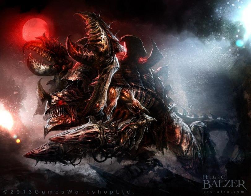 Красивые картинки Арт Живность Warhammer 40K tyranid carnifex