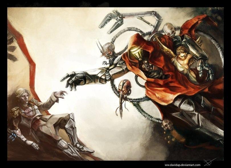 Красивые картинки Арт Warhammer 40K адептус механикус