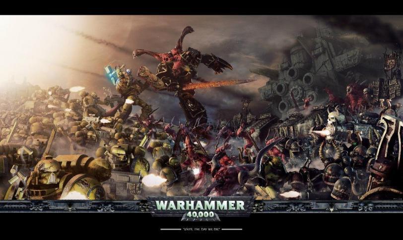 Красивые картинки Арт Warhammer 40K пафос и превозмогание Космодесант