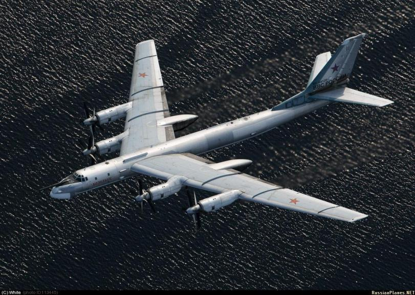 Красивые картинки Фото Техника Ту-95