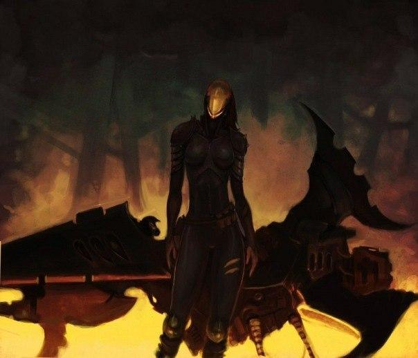 Красивые картинки Арт Warhammer 40K dark eldar  reavers