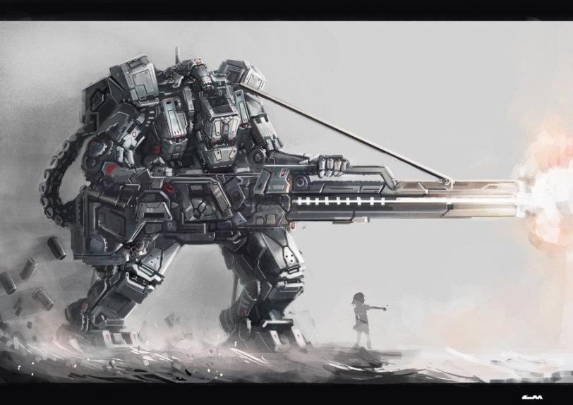 Красивые картинки Арт Sci-fi роботы