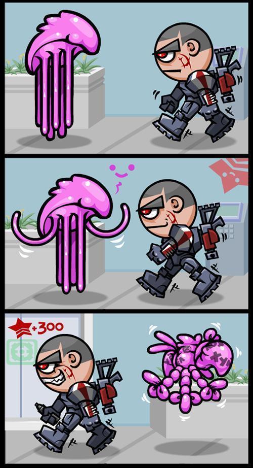 Комиксы Прикольные картинки Mass Effect Shepard renegade