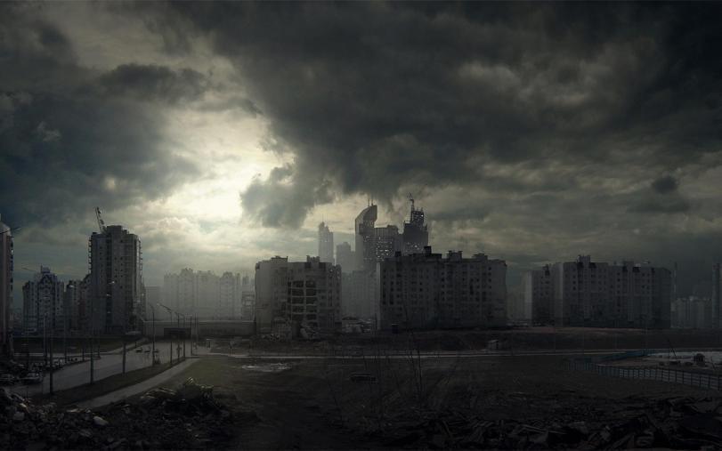 Арт Постапокалипсис Мрачные картинки