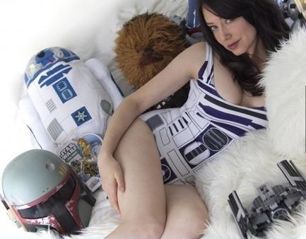 Фото Девушка Star Wars косплей