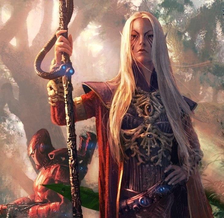 Красивые картинки Арт Warhammer 40K Eldar Эльдар