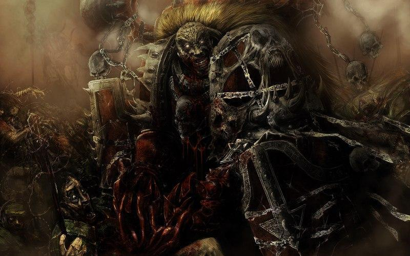 Красивые картинки Арт Warhammer 40K Несущие слово Word bearers